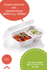 food box sugarcane pla